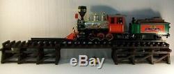 Model Railroad G Gauge LOWBOY Trestle & Bridge / Wooden Low Boy / G Scale Trains