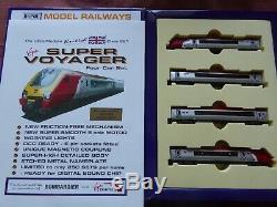 Model-Railways-Trains Dapol N Gauge Virgin Super Voyager four car set 221110