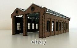 Modelux O Gauge Double Road Victorian Engine Shed