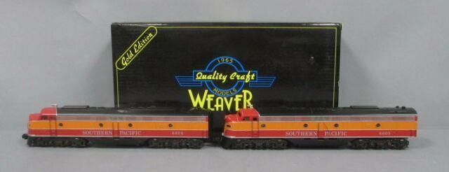 Modified Weaver O Gauge Southern Pacific Daylight Emd E8 Aa Diesel Set (3rail)