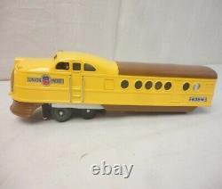 Mth Lionel O Gauge Tinplate Union Pacific City Of Denver Passenger Set 11-6021-1