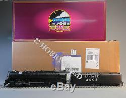 Mth Premier Santa Fe 4-8-4 Steam Engine Tender Proto 3 Hi Rail O Gauge 20-3668-1