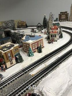 Multilevel O Gauge Model Train Layout 17x15 7 Track Yard Handmade