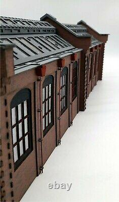NEW! Modelux O Gauge Double Road Victorian Engine Shed long shed