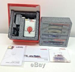 NIB Marklin Mini Electric Train Set Christmas Edition 1220 Scale Z Gauge 81846