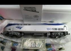 NIB Very Rare MTH Amtrak genesis engine phase V 20-2528-1 #180 premier O Gauge
