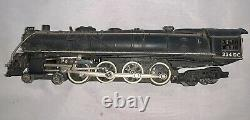 Nice Vintage S Gauge American Flyer 334 DC Steam Locomotive Engine