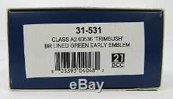 OO Gauge Bachmann 31-531 Class A2 60536 Trimbush BR Green Livery Loco