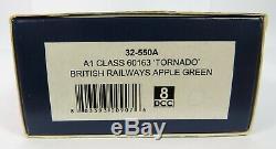 OO Gauge Bachmann 32-550A A1 Class 60163 Tornado BR Apple Green 4-6-2 Loco