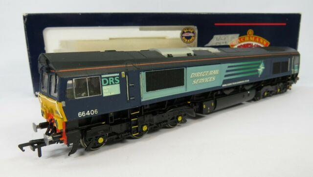 Oo Gauge Bachmann (66406) Class 66 Repainted Drs Direct Rail Service Livery Loco