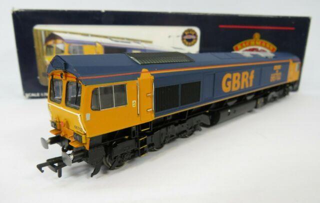 Oo Gauge Bachmann (66702) Class 66 Repainted Gbrf Livery Loco Blue Lightning