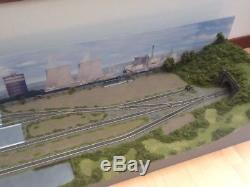 OO gauge Model Railway Layout Two Sections 5 1/2ft x 17.5 DC or DCC Park Lane