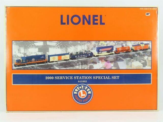 O Gauge 3-rail Lionel 6-21952 2000 Service Station Special Train Set With Diesel