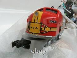 O Gauge Lionel 2343 Santa Fe F-3 A/B Diesel Locomotive 6-18128/6-18129