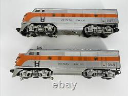 O Gauge Lionel #2345 Western Pacific Emd F3a-a 52 Diesel Locomotives Pre-owned