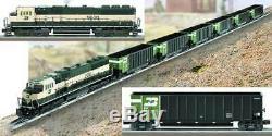 O-Gauge Lionel Burlington Northern Coal Train Set