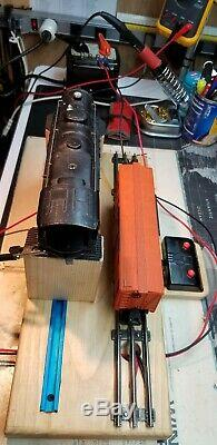 O Gauge Test Stand For Lionel Trains Completely Wired/soldered! Fully Adjustable