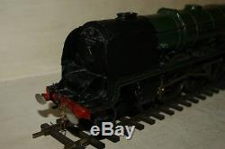 O gauge 7mm SCRATCHBUILT Duchess of Hamilton BR LMS Green 46229 Slaters Wheels