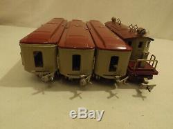 O gauge Ives 1694 4-4-4 passenger set