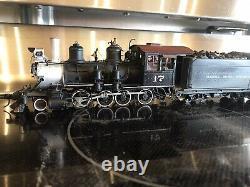 On3 Sunset Samhongsa Brass C-16 D&RGW 2-8-0 Steam locomotive Narrow gauge