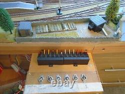 Oo Gauge Layout 10ft In 2 Sections Excellent Condition End To End