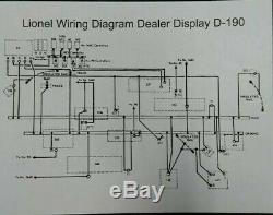 Original 1950s Lionel Trains D-190 Dealer Display O-gauge Layout 4'x9