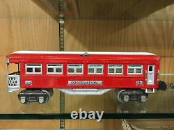 Outstanding Lionel O Gauge 276W Set OBSB 1935 with255E, 263WX, 613, 614, 615 EX+
