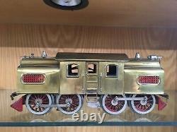 Outstanding Lionel Standard Gauge 54 Brass Locomotive c. 1921-2 EX