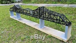 P&LE Bridge, Beaver, PA, Circa 1911' Cantilever design, N gauge L. E. NICE sale