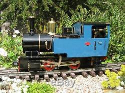Pearse'Ithon' Live Steam Locomotive G Gauge 45mm Garden Railway RC 16mm LGB