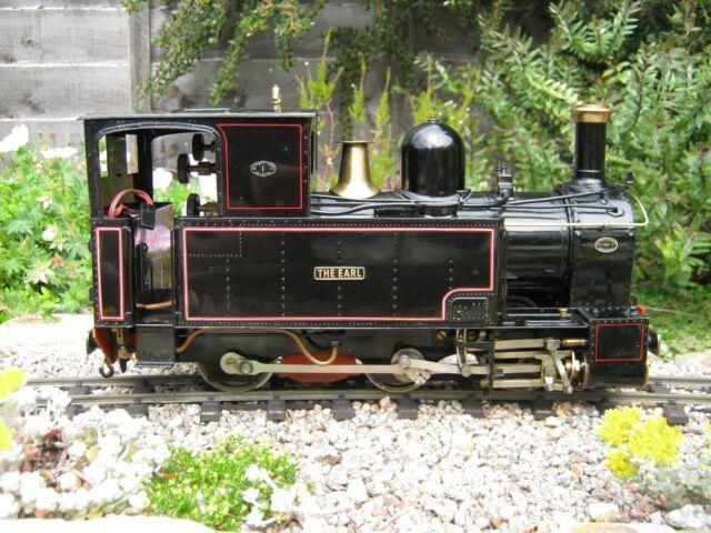 Pearse W&l'earl' Live Steam Locomotive Sm32 G Gauge Garden Railway 2.4 Rc 16mm