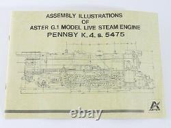 Pennsylvania K4 S Live Steam Locomotive Aster Gauge 1 132 UNBUILT KIT LE #171