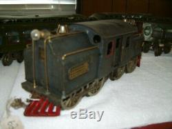 Prewar Lionel #42 Dual Motor Loco Standard Gauge NYC With CARS #18, #19, #190