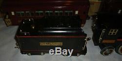 Prewar Lionel Standard Gauge #394e 390e/390t 319 320 322 Wine Boxed Set Ex/ln. M7