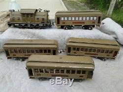 Prewar Lionel Standard Gauge Locomotive Passenger Train Set AS IS PARTS OR R