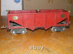 Prewar Standard Gauge Lionel 516 Red Hopper Car Good Looking Hopper Look