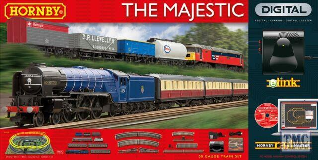 R1172 Hornby Oo/ho Gauge The Majestic Digital Train Set With Elink