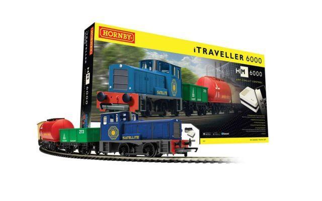 R1271m Hornby 00 Gauge Models Itraveller 6000 Train Set Brand New & Boxed Uk