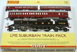 R3397 Hornby 00 Gauge LMS Suburban Passenger Train Pack Era 3 Boxed RRP £267