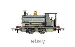 R3825 Hornby OO Gauge Locomotive Peckett 614 0-4-0 Centenary Ltd Edition Train