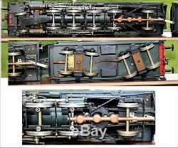 RARE LIVE STEAM Brass Gauge 1, 1 Gauge ASTER FULGUREX SNCF 141R. 1244 2-8-2