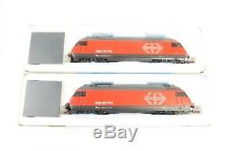 ROCO HO GAUGE 62398 SBB 2x Re 460, ONE POWERED + ONE DUMMY, DCC FITTED