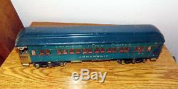 Rare American Flyer Presidential Standard Gauge 4687 Set. Locomotive and 3 cars
