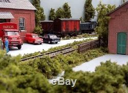 Stanton Yard Model Railway Layout with Legs, 6 Foot x 18, OO Gauge, DC or DCC