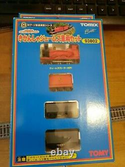 TOMIX, N gauge, boxed set, James and trucks #POWERED, TESTED, WKG#
