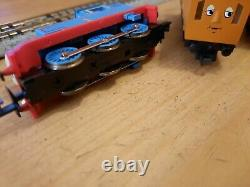 TOMIX, N gauge, boxed set, Thomas, Annie & Clarabel #POWERED, TESTED, WKG#