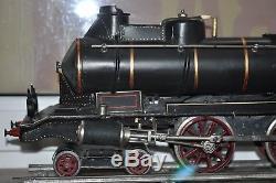 TOP RARITÄT Echtdampflok SPUR 3 gauge 3 Uralt PLM 67 mm 2,5 zum restaurieren