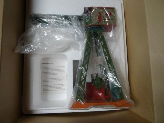 T-reproductions 70 Standard Gauge Dorfan Electric Crane New In Box