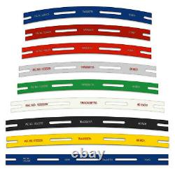 Track Laying Templates, straight & curves Tracksetta OO/HO gauge