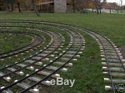 Track Set In 7 1/2 7 1/4 Gauge 20 Foot Dia